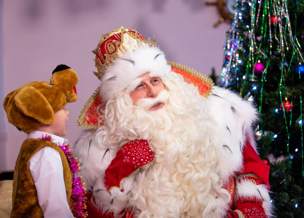 Если рассказать Деду Морозу о своём заветном желании, оно обязательно сбудется.