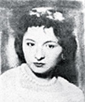 Анна Богоявленская вмолодости.