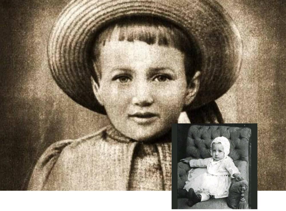 Анна Ахматова в детстве