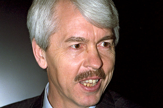 Первый президент Крыма Юрий Мешков.