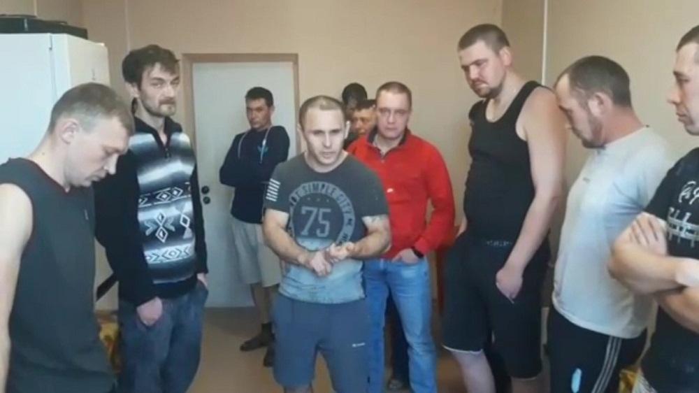 Вахтовики из Башкирии