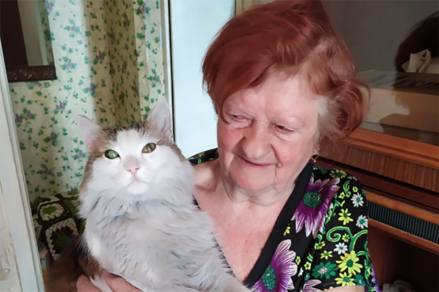 Коту Лехе уже 15 лет - солидный возраст.