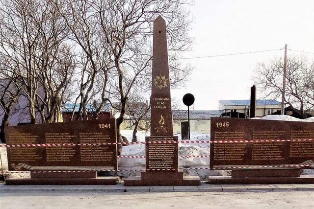 Обновлённый памятник в селе Запорожье.