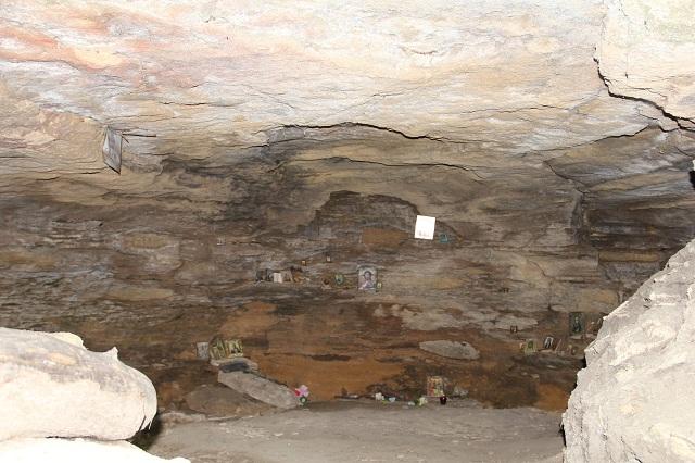 Пещера отшельника.