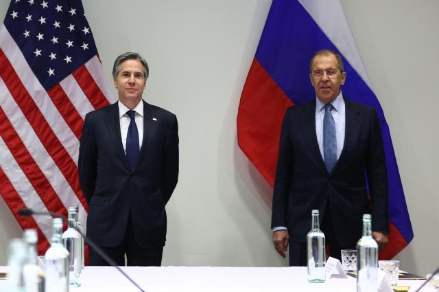 Сергей Лавров и государственный секретарь США Энтони Блинкен.