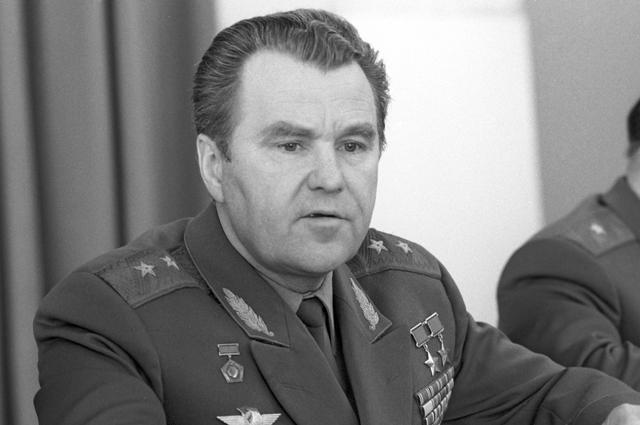 Владимир Шаталов. 1985 г.