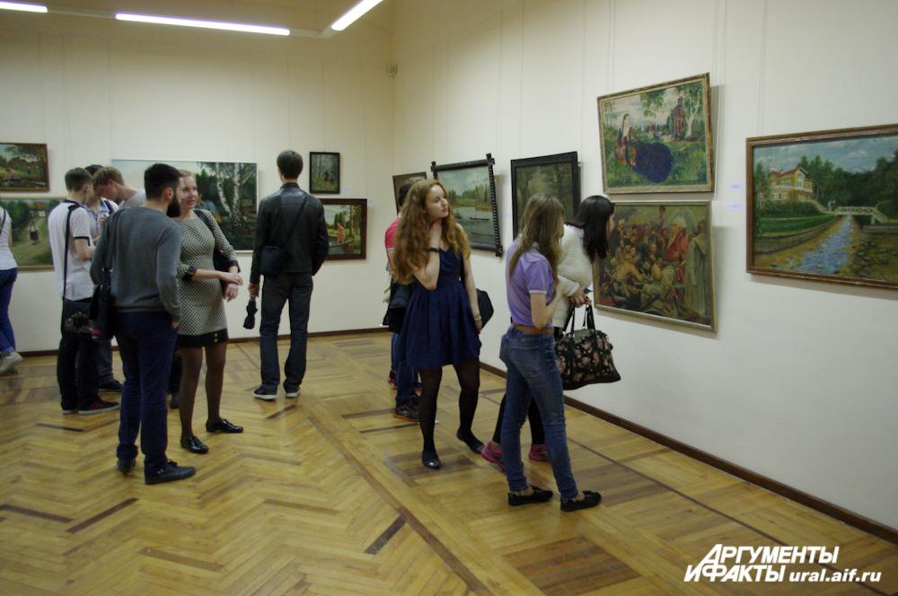 В Екатеринбурге прошла традиционная весенняя акция «Ночь музеев»