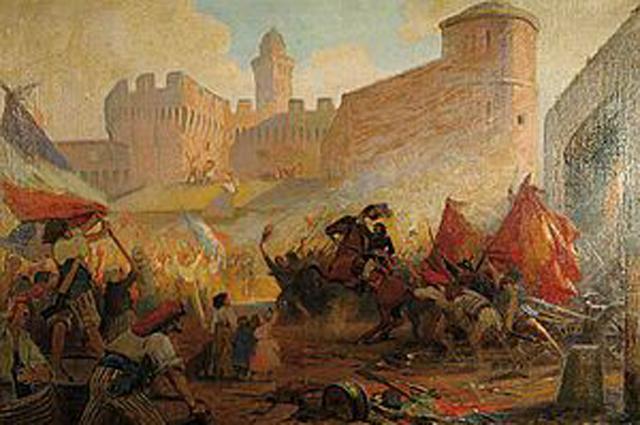 Взятие Бастилии. 1928, Генри Пол Перро