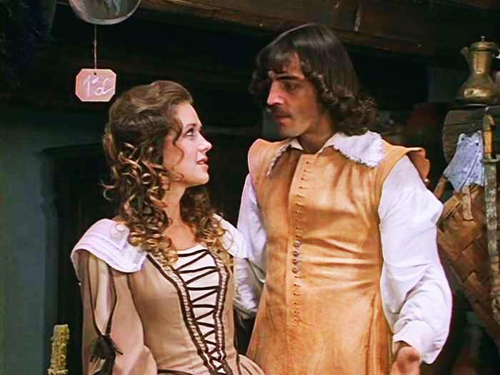 Кадр из фильма «Д`Артаньян итри мушкетера», 1979г.