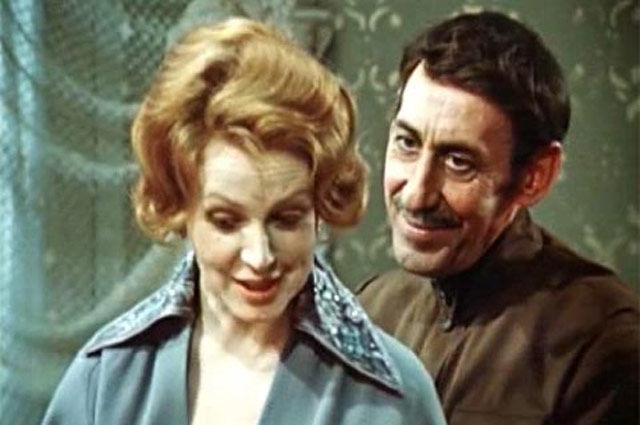 «С Владимиром Басовым у нас был союз не только семейный, но и творческий. Мы часто снимались вместе. Например, в фильме «Дни Турбиных».
