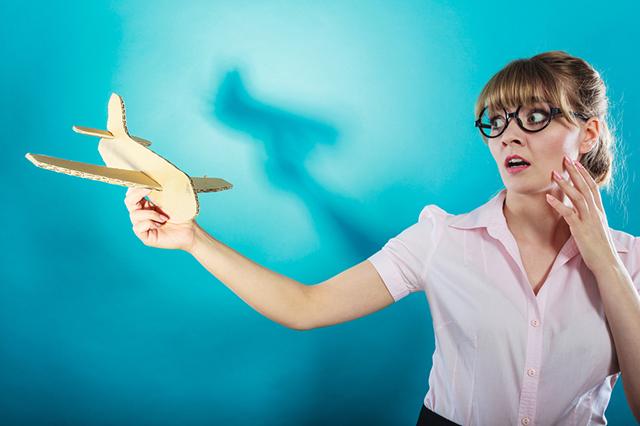 Большинство распространенных страхов, связанных с полетами - мифы.