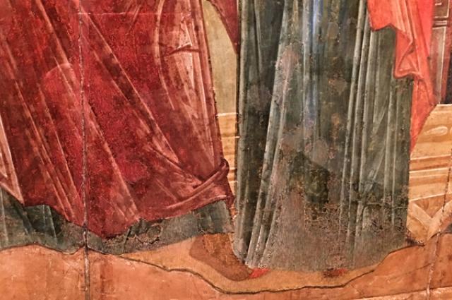 Символическое изображение чуда зачатия.