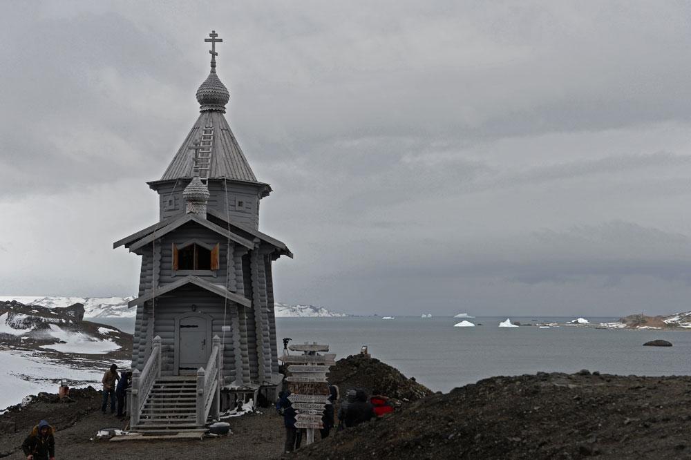 Троицкий храм в Антарктиде.