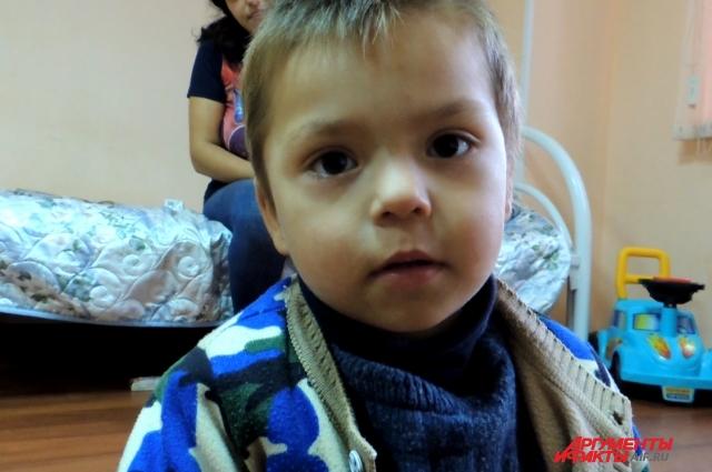 Скоро Гоша пойдёт в детский сад.