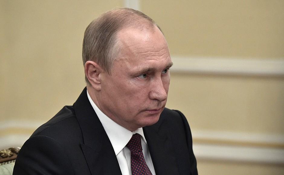 Путин в Екатеринбурге
