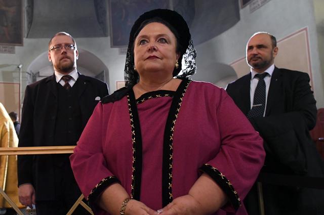 Глава Российского императорского дома Великая княгиня Мария Владимировна Романова.