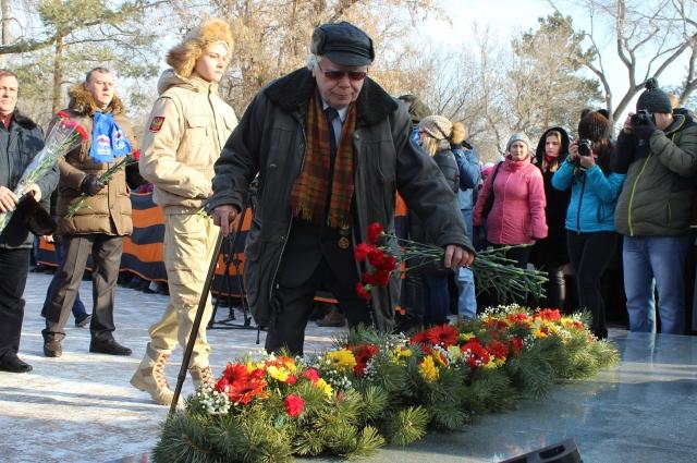 Участник обороны Сталинграда Николай Осовитный.