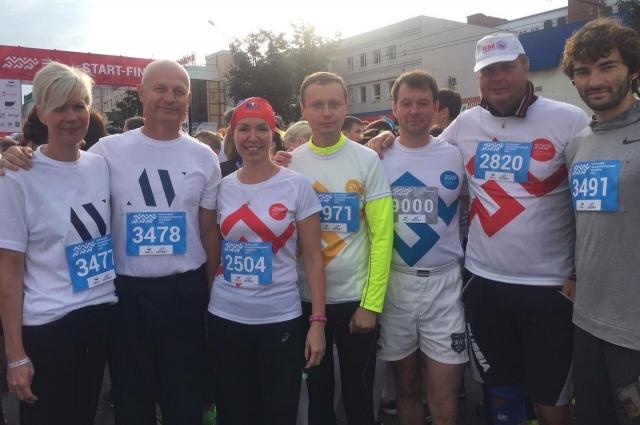 Многие сотрудники администраций города и края, а также члены правительства Пермского края побегут пермский марафон.
