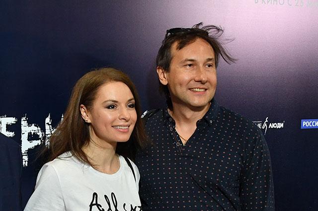 Ирина Лачина и режиссёр Николай Лебедев.