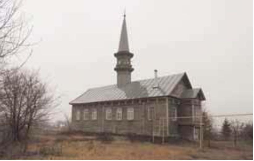 мечеть в селе Большая Елга Рыбно-Слободского района РТ