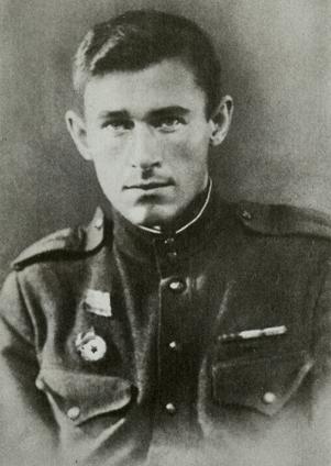 Курсант школы ГУКР Смерш Ф. Д. Бобков, 1945 год.