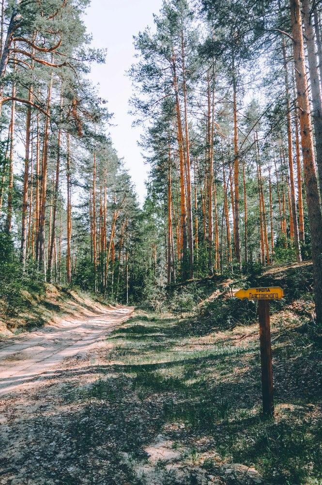 Тропа Паустовского в нацпарке