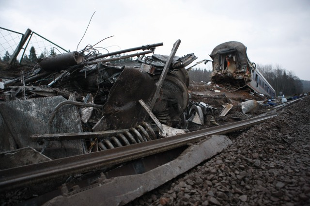 Крушение Невского экспресса в ноябре 2009 года