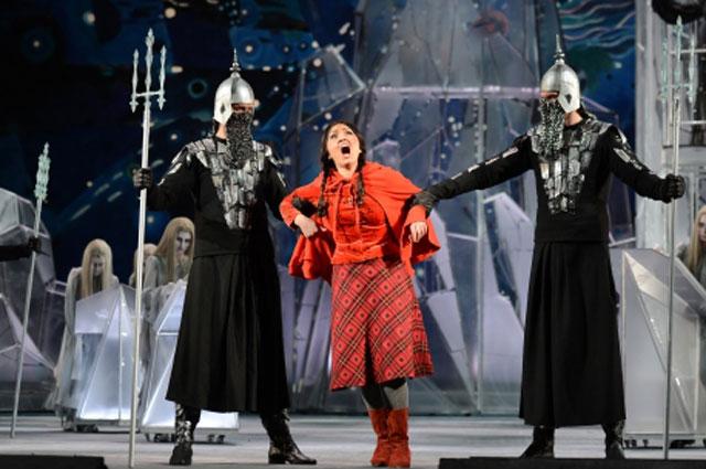 Отрывок из оперного спектакля оперы История Кая и Герды