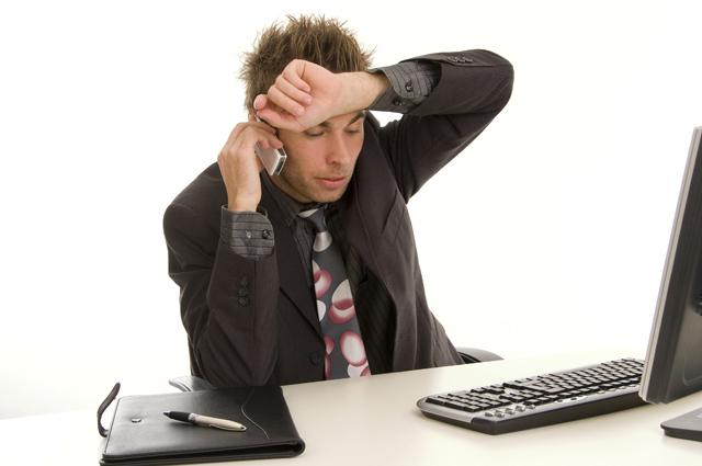 Офис, работа, телефон, стресс