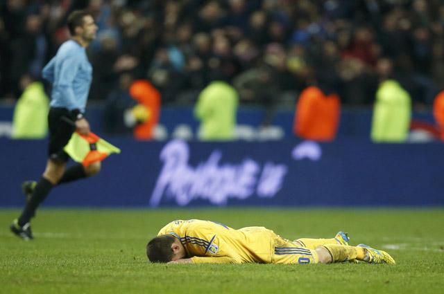 Футболист сборной Украины расстроен поражением в стыковых матчах против Франции