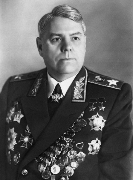 Дважды герой Советского Союза, Маршал Советского Союза Александр Михайлович Василевский