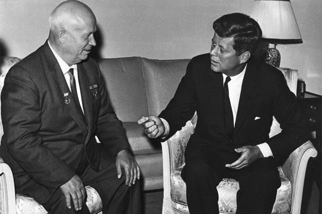 Встреча Джона Кеннеди с Хрущёвым, Вена, 3 июня 1961 года