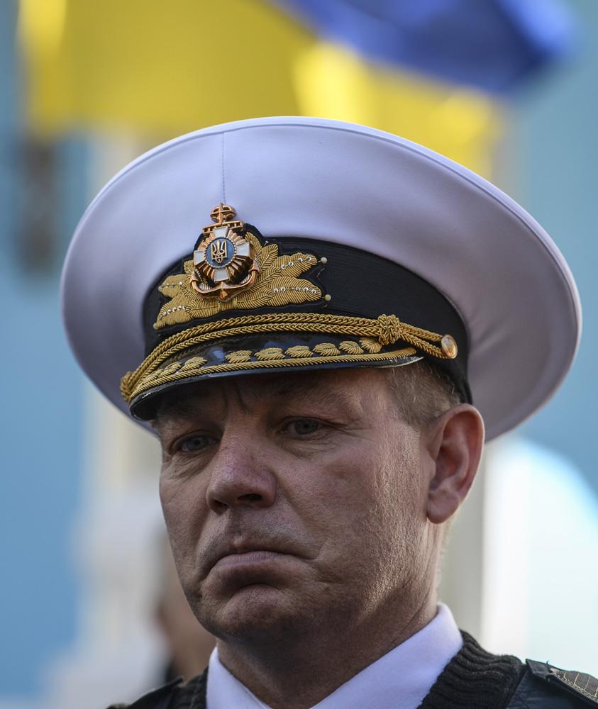 Главнокомандующий Военно-морскими силами Украины Сергей Гайдук.