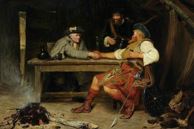 Хорошо или плохо - Роб Рой и бэйли. 1886 год. Никол Джон Ватсон.