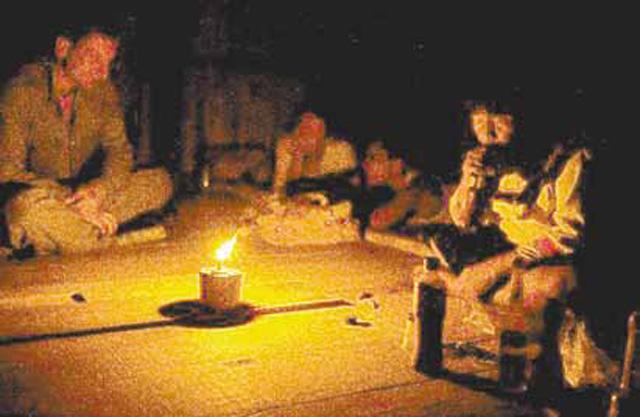 На шаманской церемонии вас переносят в иные миры.