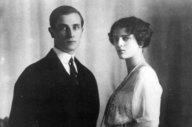 в марте 1915 – у молодых людей на свет появилась дочь Ирина.