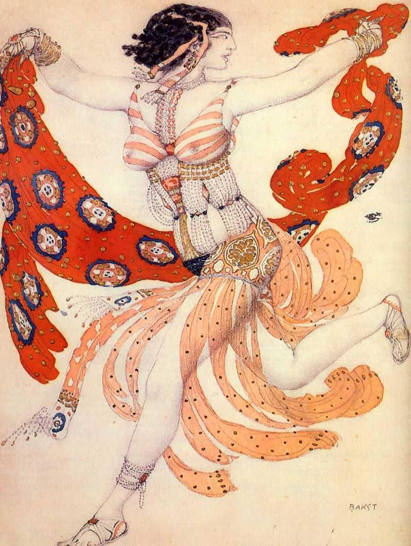 Особую славу Бакста составили его работы для Русских сезонов.