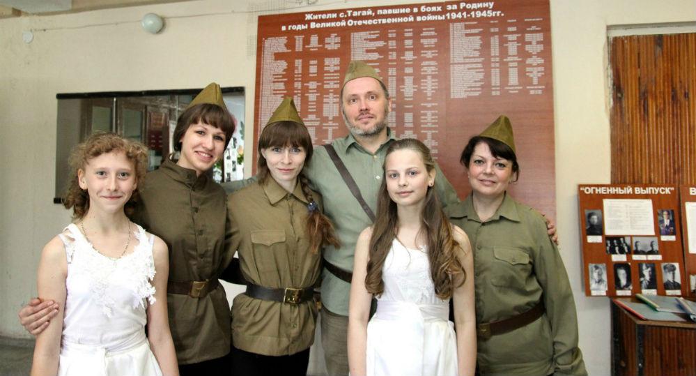 Самая трепетная - тема Великой Отечественной войны и Победы.