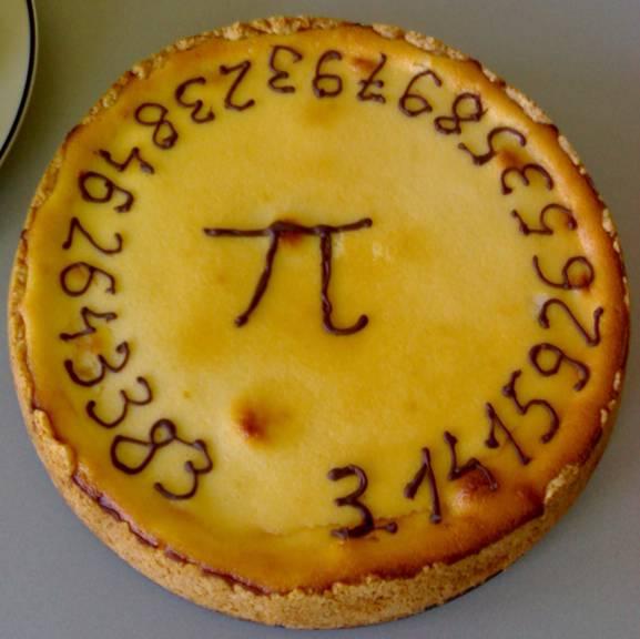 Пи-рог или же по-английски Pi Pie.