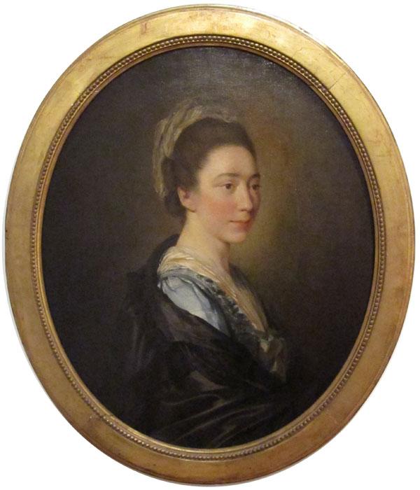 Портрет Мари-Анны Колло.