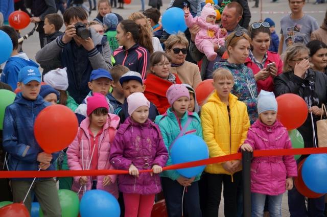 На праздник съехались ребята из разных районов Пермского края.