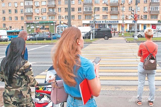 Переходить проезжую часть на Ленинском просп., влад. 78–83 теперь безопасно.