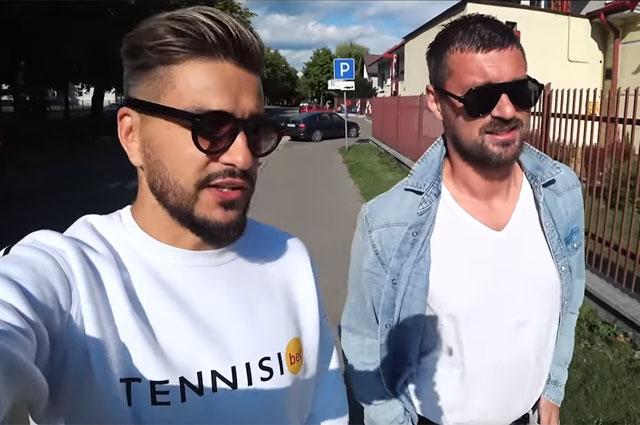 Евгений Савин и Артем Милевский.