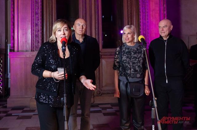 Арина Шарапова, Игорь Матвиенко, Алёна Свиридова и Сергей Мазаев.