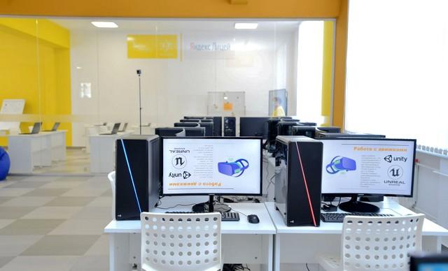 В гимназии «Диалог» открыт первый в республике «IT-куб» для цифрового образования.