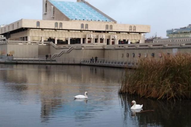 На месте электростанции имени 3-й годовщины ТАССР сейчас театр.