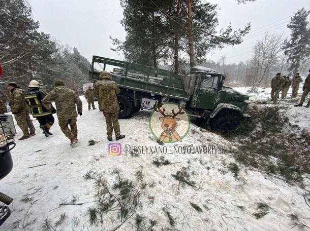ДТП во Львовской области.