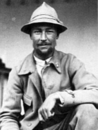 Петер Ауфшнайтер - участник последней экспедиции СС