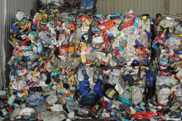 Так выглядит мусор после сортировки