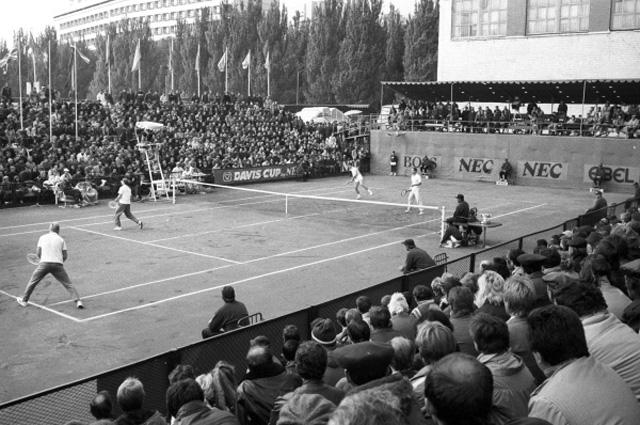 Кубок Дэвиса СССР Швейцария, 1987 г